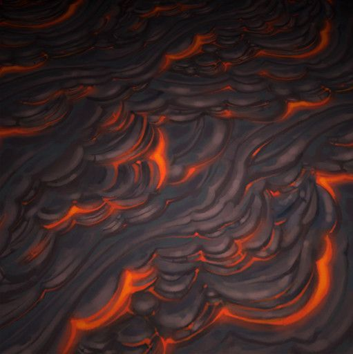 ArtStation - Lava textures - Bitgem, Antonio Neves