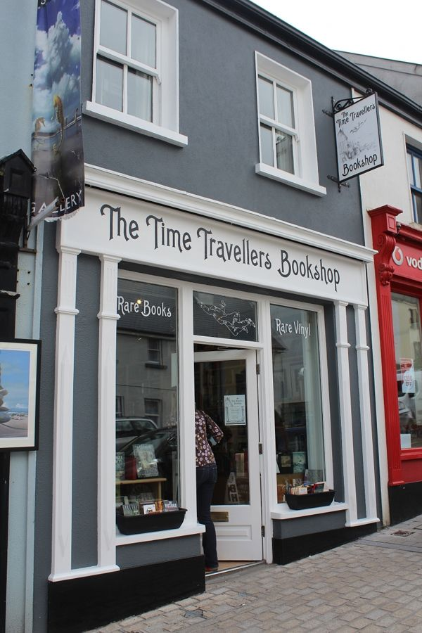 The Time Traveller's Bookshop, Westport, County Mayo, Ireland.