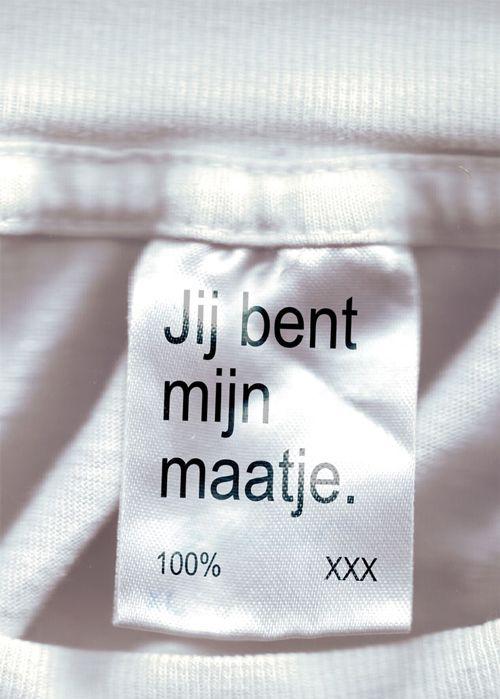 Jij bent mijn maatje   100% XXX