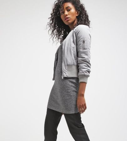 Miss Selfridge Kurtka Bomber grey