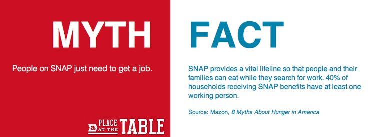 Learn the facts about #SNAP/food stamps: http://takepart.com/table/snap-alumni?cmpid=apatt-pinterest