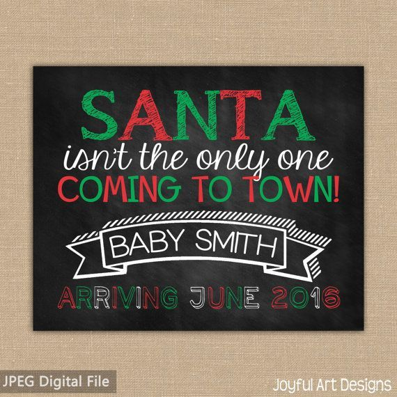 15 Mustsee Christmas Baby Announcement Pins – Christmas Baby Pregnancy Announcement