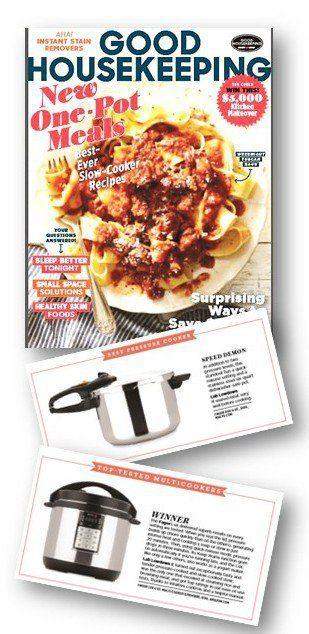 Good Housekeeping Mag Adds Multi Cooker Reviews -@fagoramerica