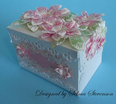 How To Decorate Boxes 194 Best Decorated Boxes Images On Pinterest  Bricolage