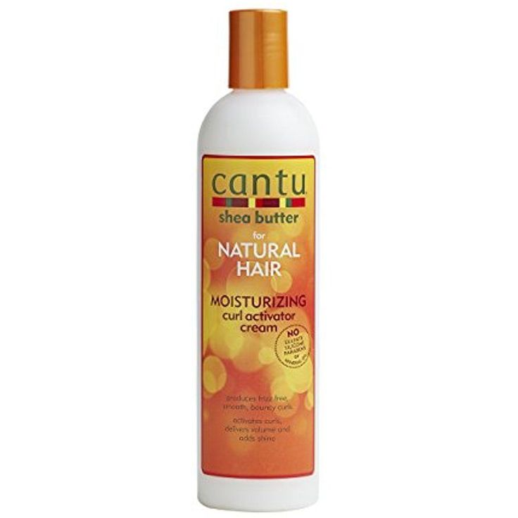 Cantu Shea Butter For Natural Hair Moisturizing Curl Activator Cream, 12 Ounce #Cantu