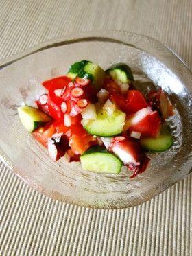 タコとトマトと胡瓜のイタリアンサラダ by Y's [クックパッド] 簡単 ...