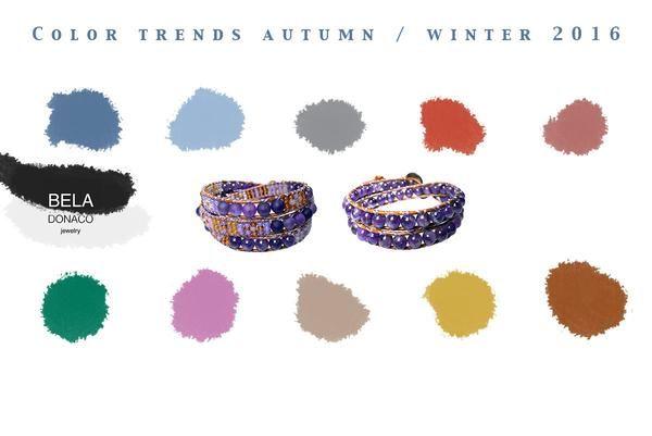 Color trends autumn 2016
