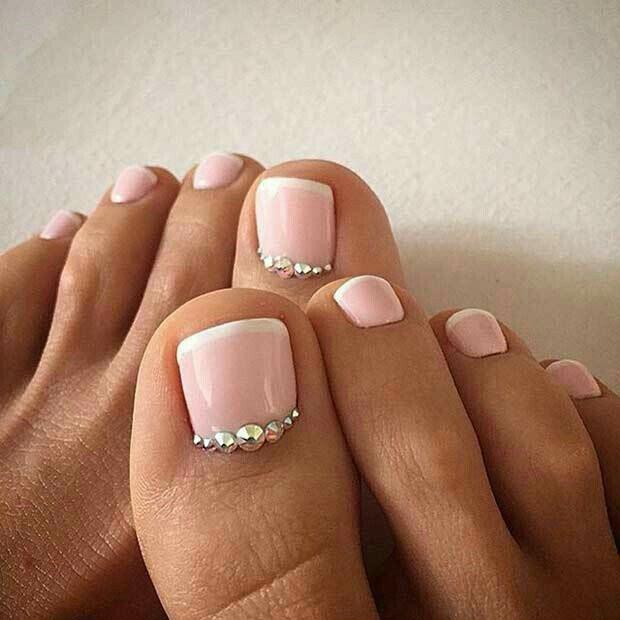 Linda manera de decorar los pies