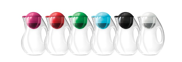 Bobble Jug  The basic water pitcher gets a sleek new look