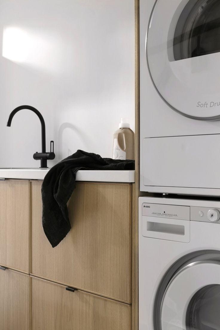 Bad kombinert med vaskerom