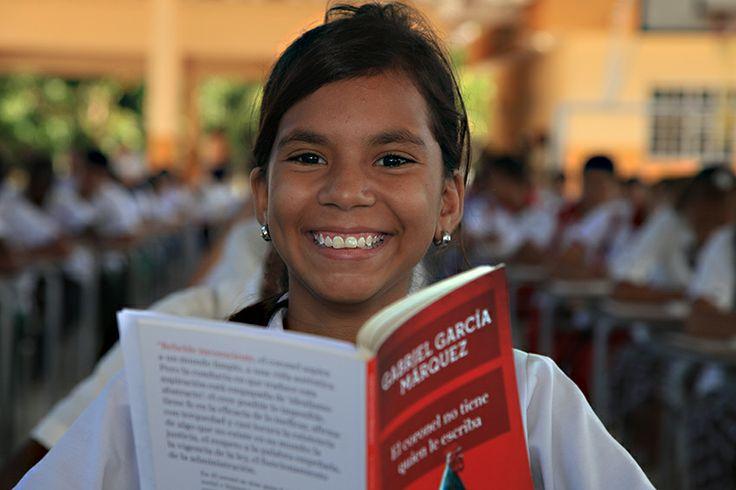 Estudiante del Colegio Gabriel García Márquez
