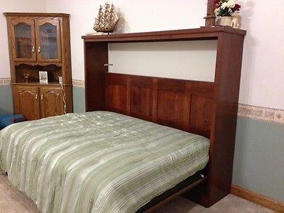Custom Full Size Wall Bed Murphy Bed Horizontal Murphy