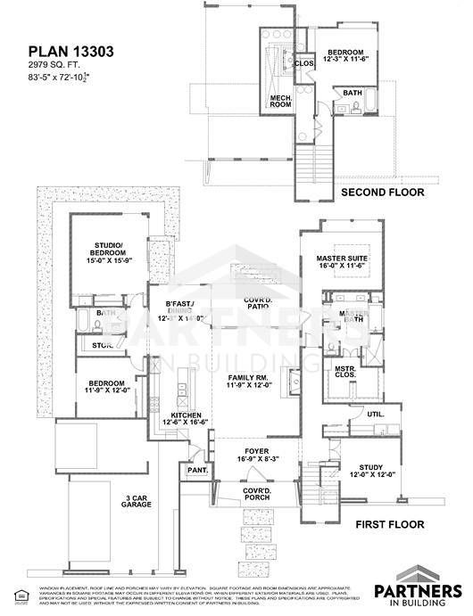 25 best partners in building images on pinterest house floor plans plan 13303 is a 2979 sqe ft 4 bedroom plan built and designed by partners in building custom home builder in texas malvernweather Gallery