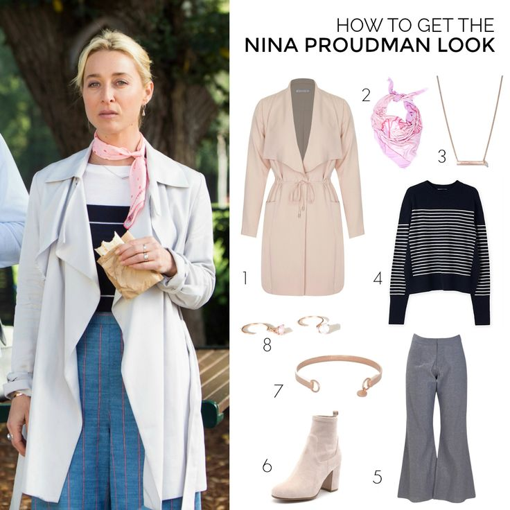 It's all in the flow of the trench. Embrace the Offspring Nina Proudman look in this Primness jacket - plus you could win one for your own wardrobe.