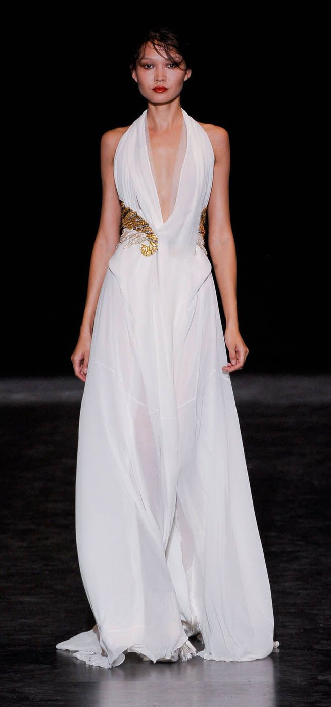 196 best the greek wedding dress images on pinterest for Greek goddess wedding dresses