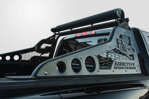 ADD Race Series Chase Rack for 2017-2018 Ford Raptor 3.5L SVT (No Tire Carrier): 2017-2018 Ford Raptor ADD Race Series-R Chase Rack with No…