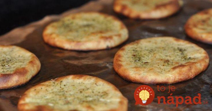 Pečené zemiakové placky s cesnakom