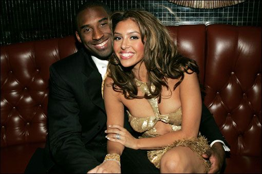 Kobe Bryant And Wife   Kobe and wife