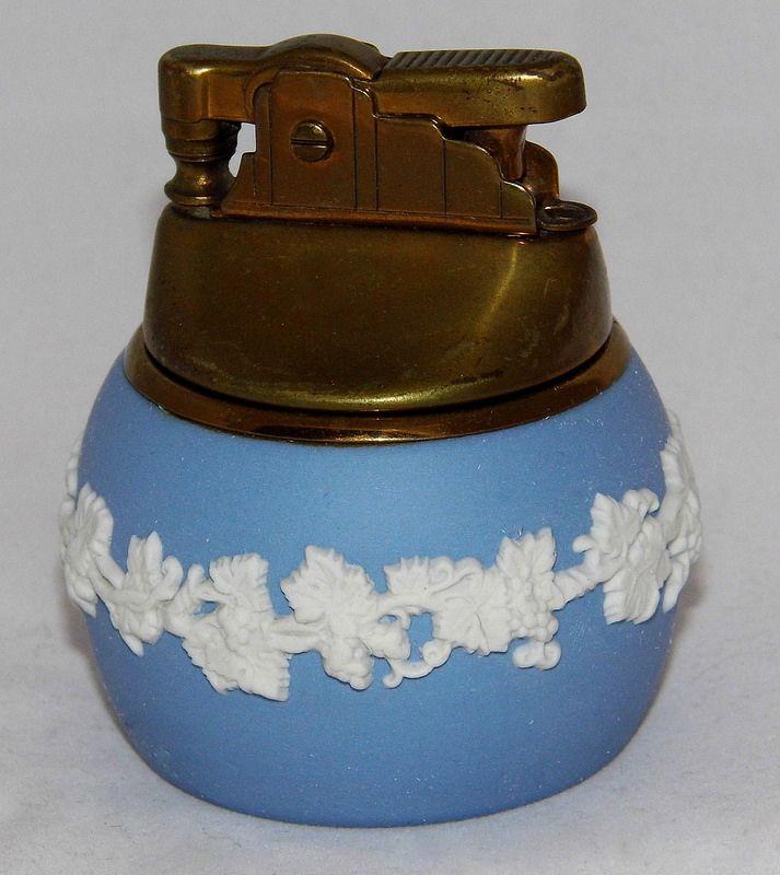 Vintage Wedgewood Table Cigarette Lighter, Made In England