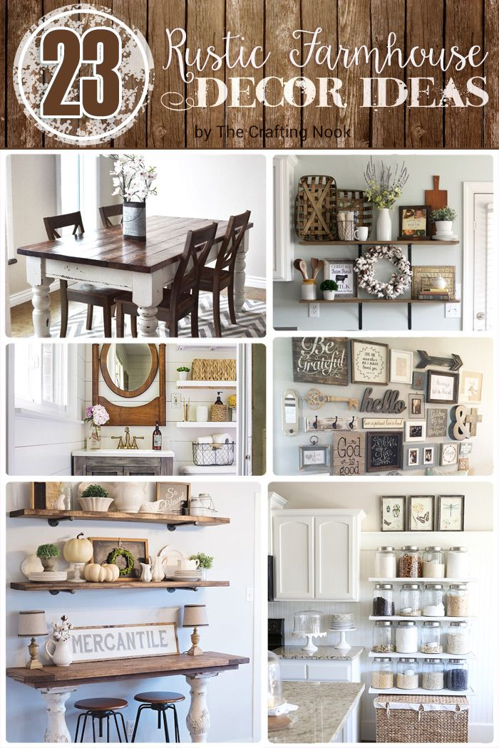 23 Rustic Farmhouse Decor Ideas 184 best