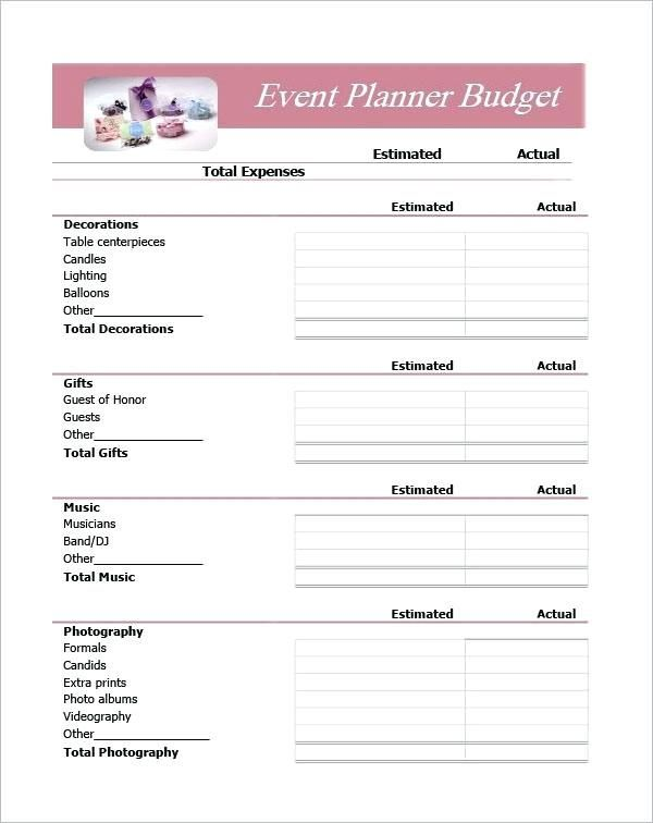 Planning Template Excel Event Planning Spreadsheet Example