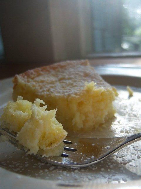 Lemon cream cheese butter cake