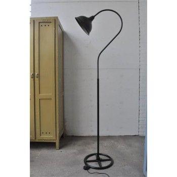 Franse stationslamp / staande lamp