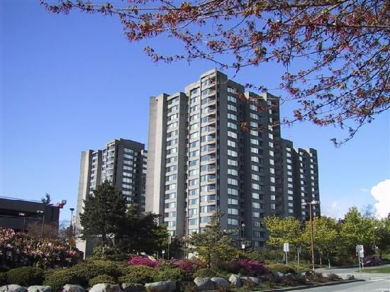 The UBC residences where I lived: Gage Towers, I was on the 10th floor!