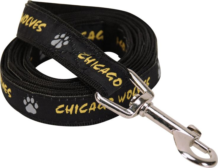Chicago Wolves 6' Dog leash