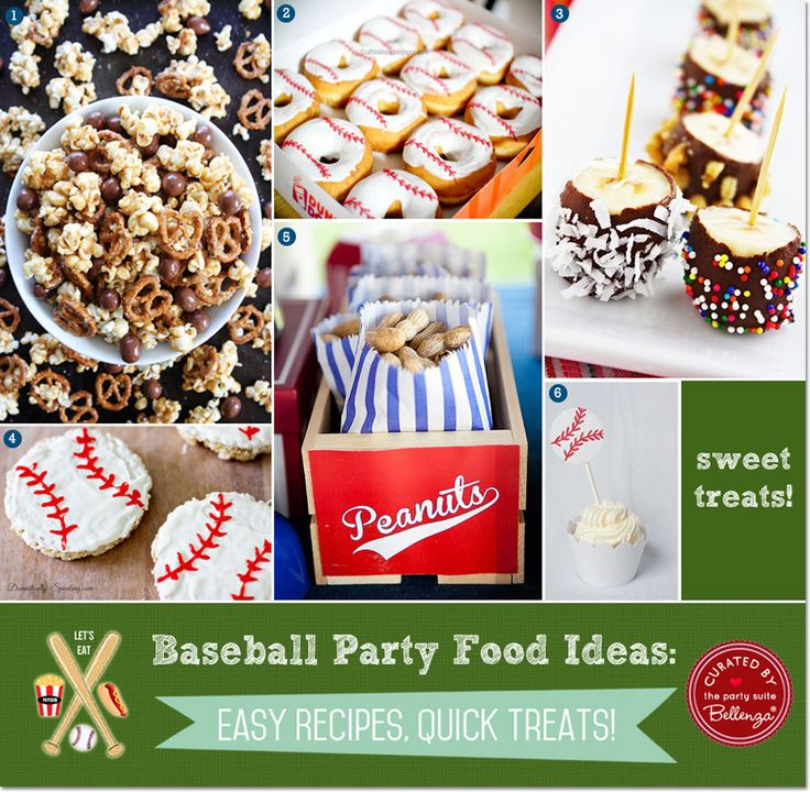 17 Best Ideas About Baseball Party Foods On Pinterest