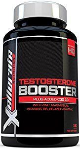 Testosterone Booster for Men - 180 Capsules - UK Manufactured - Ingredients Contribute to *Normal Testosterone Levels, *Reduction in Fatigue, & *Normal Energy-Yielding Metabolism - Xellerate Nutrition Testosterone Supplement Includes Natural Ingredients Maca Root, Aspartic Acid, Zinc, Magnesium, Multiple Vitamins and CoQ10
