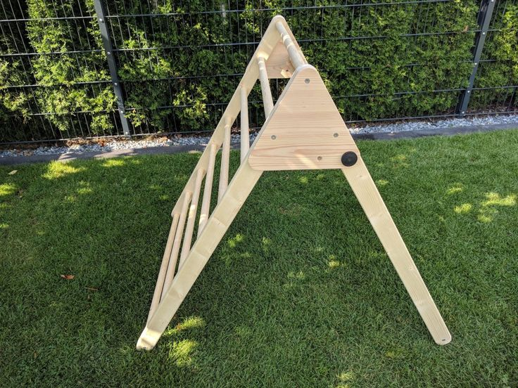 DIY Kletter-Dreieck
