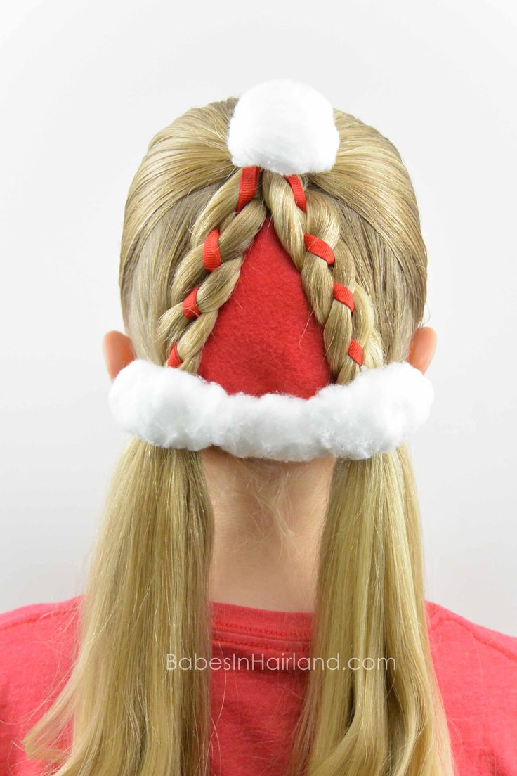 christmas hairstyles ideas