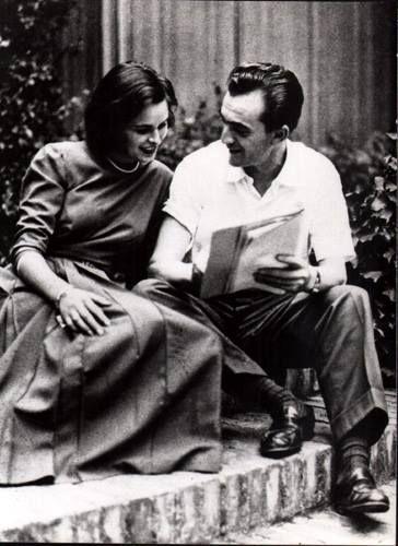 Lucia Bosè & Luchino Visconti