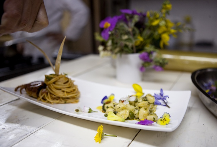 flowers and herbs never fail in our cuisine