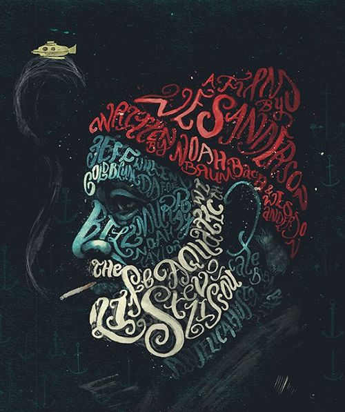 Remarkable typography designs for inspiration typography Typography portrait