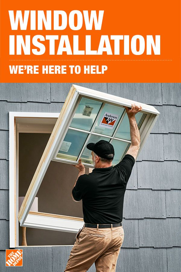 The Home Depot Is Here To Help Window Installation Diy Home Interior Diy Home Repair