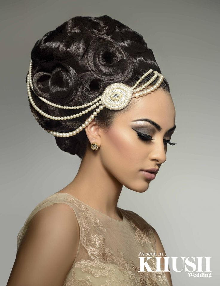 Asian Bridal Hairstyle : 37 best indian southeast asian bridal looks hair images on pinterest