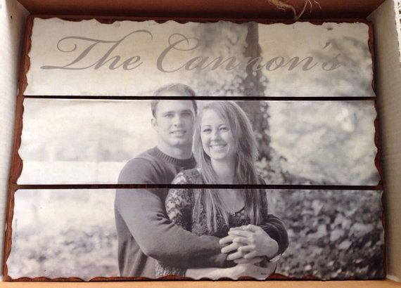 Cute gift idea for wedding or anniversary!!  18 x 12  Handmade Personalized Wood Plank by MyBestFriendsWooding, $34.00