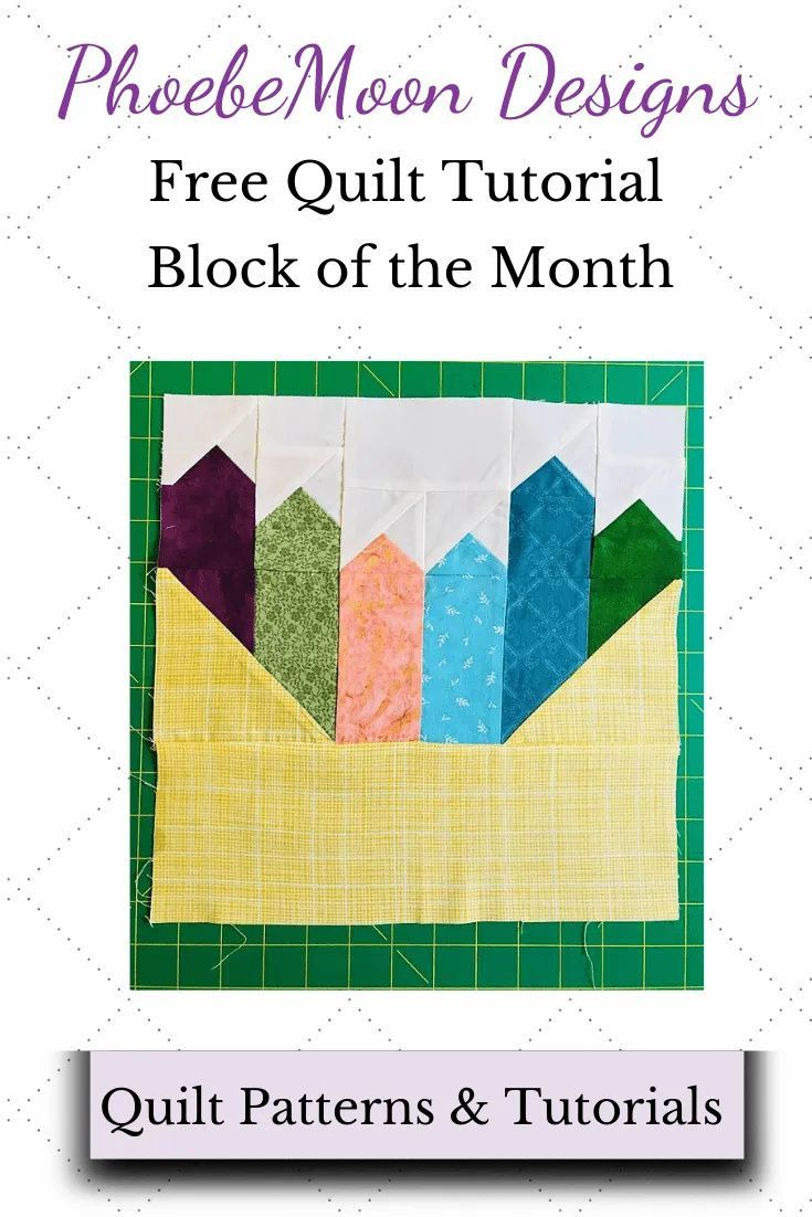 Coloring Quilt Blocks With Crayons
