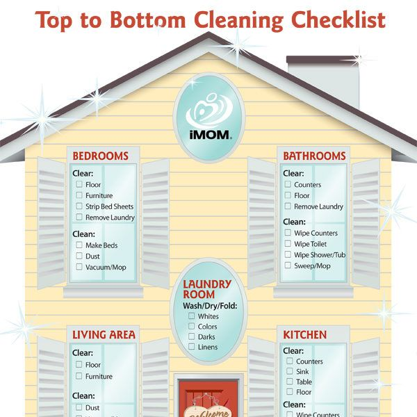 The 25 Best Room Cleaning Checklist Ideas On Pinterest