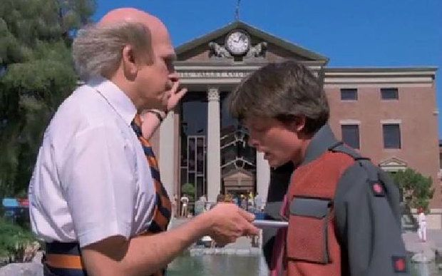 From hoverboards to self-tying shoes: Predictions that Back to the Future II got right - Telegraph