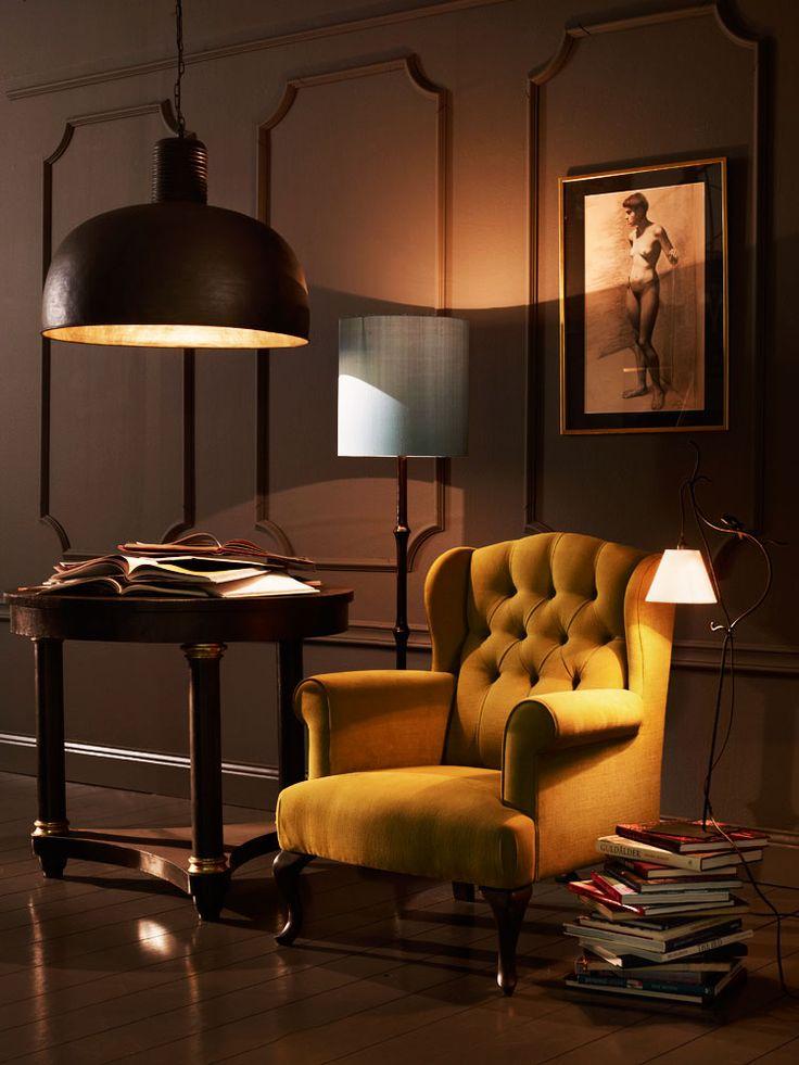 Oscar & Clothilde chair via Skona Hem