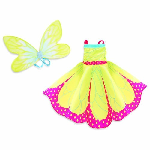 Groovy Girls Becca Butterfly Girls Size Dress Up Outfit