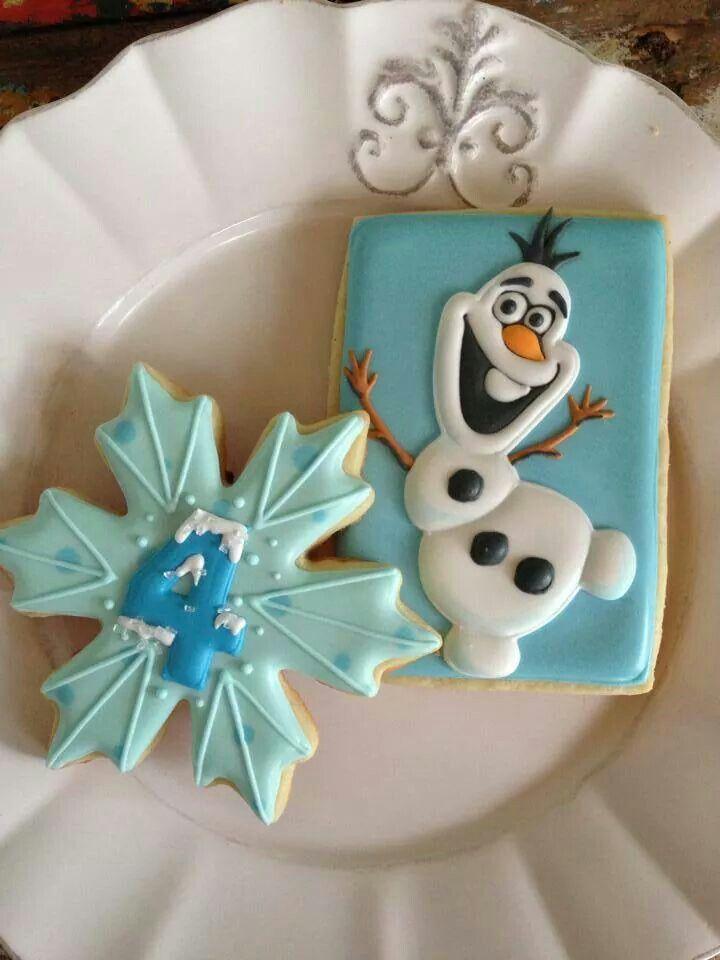Frozen cookies.