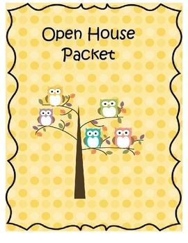 This+owl+themed+packet+is+great+for+open+house+night!+It+includes+a+sign+in+sheet,+parent+survey,+transportation+form,+and+a+volunteer+sign+up+sheet.+Please+enjoy+this+free+product+from+Lakeside+Dreaming!