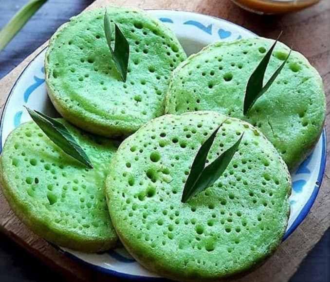 Resep Serabi Pandan Resep Kue Makanan Kue