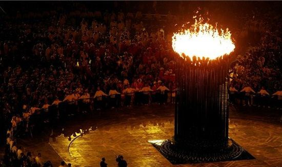 Flamme olympique - Londres 2012