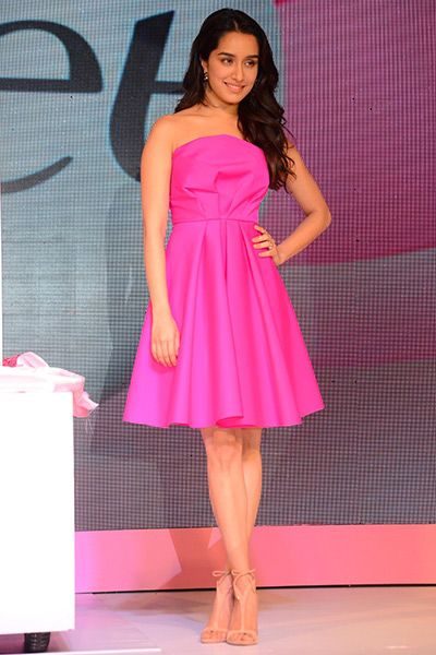 Shraddha Kapoor clicked while launching new product from Veet