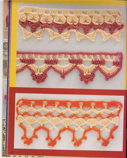 Barrado croche - Nadja Maria - Picasa Web Albums